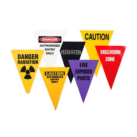 Bunting Flagline Green Triangle Distributors