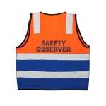 Reflective Bi Coloured Safety Vest