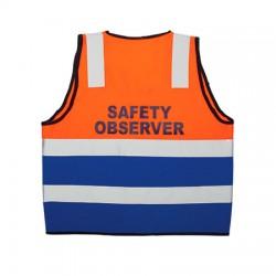 Reflective Bi Coloured Safety Vest