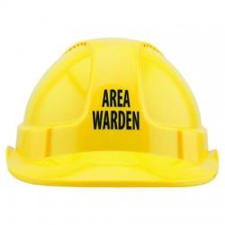 Area Warden Hard Hat