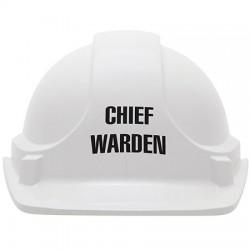 Chief Warden Hard Hat