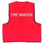 Fire Warden's Vest