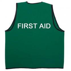 First Aid Hi Vis Vest