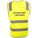 Social Distancing Safety Vest